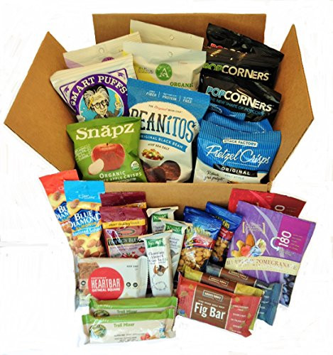Healthy Snacks Amazon  Healthy Snacks To Go Box 30 count By