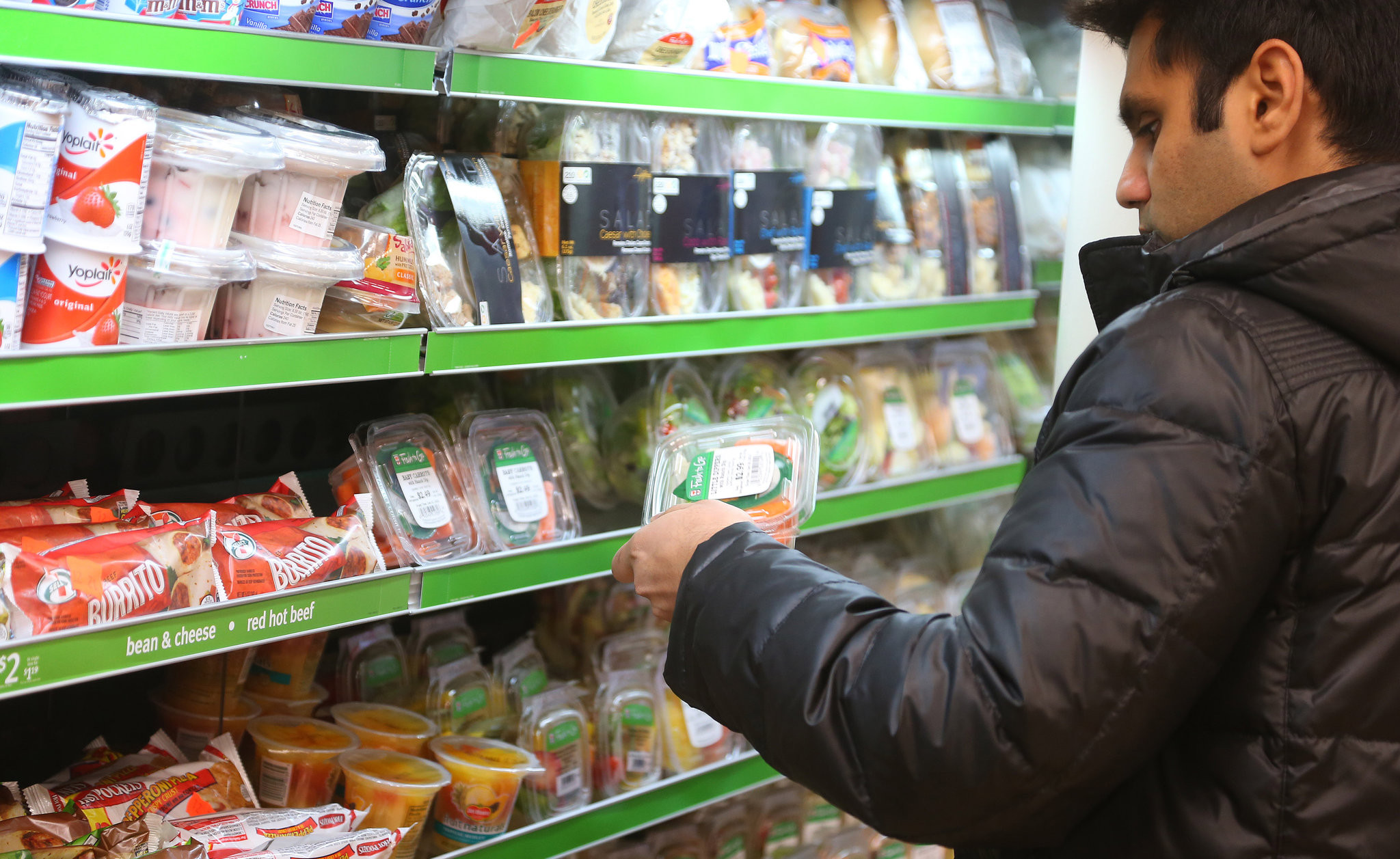 Healthy Snacks At 711  7 Eleven Stores Focus on Healthier Food Options NYTimes