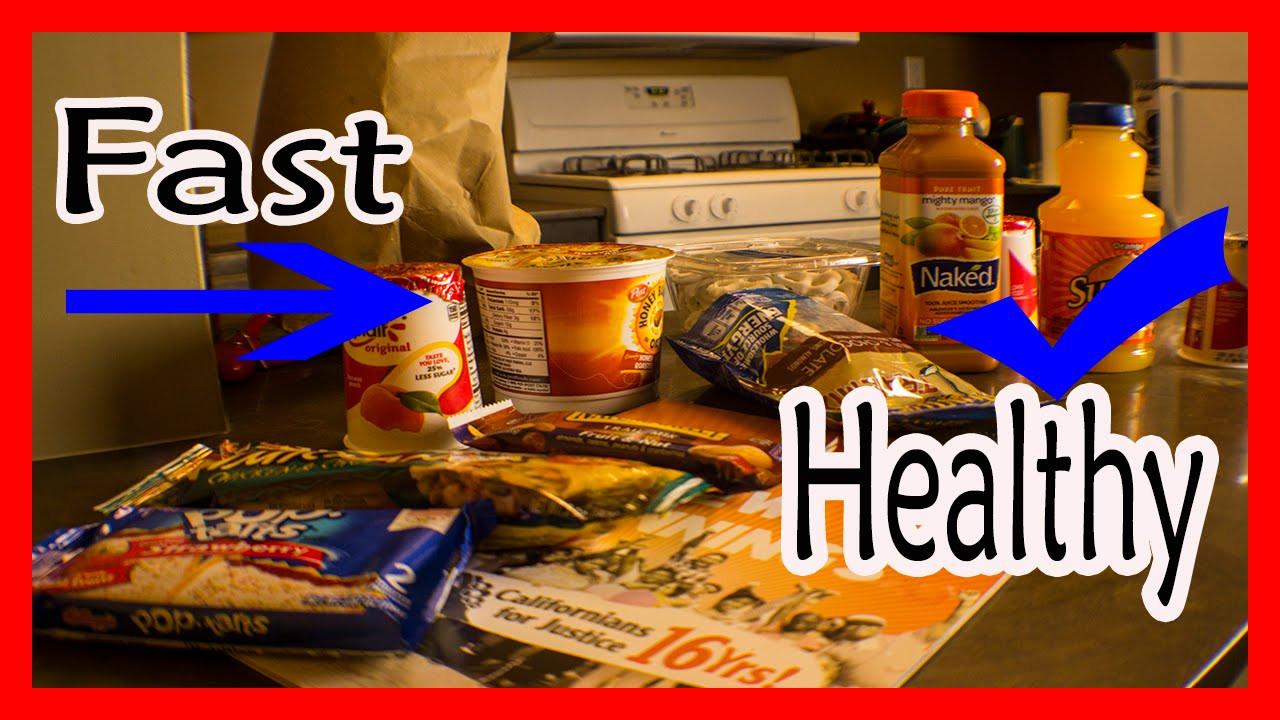 Healthy Snacks At 711  Fast & Healthy foods 711 food haul