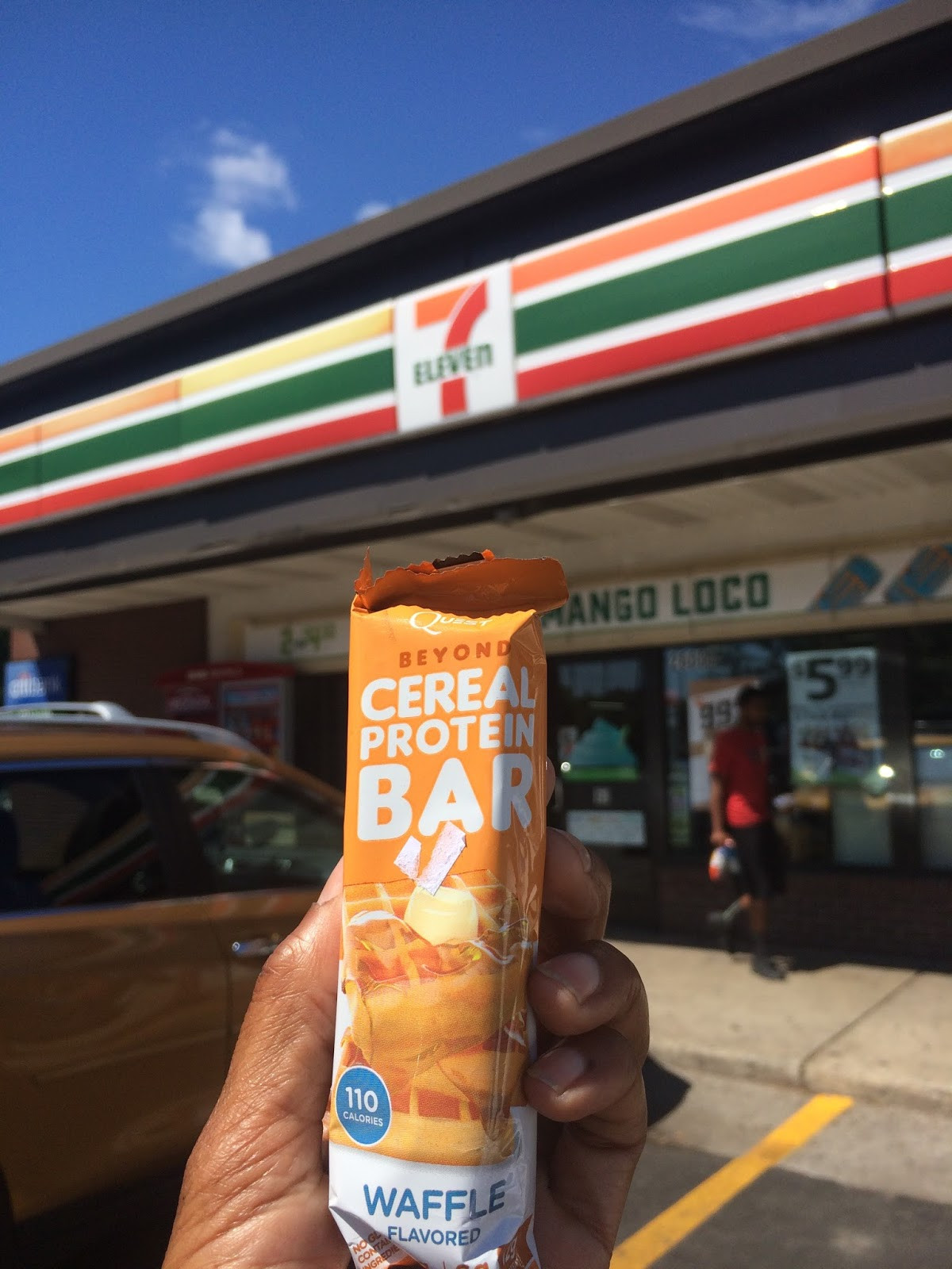Healthy Snacks At 711  The Frugal Exerciser Healthy Snacks At 7Eleven
