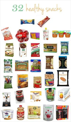 Healthy Snacks At Grocery Store  Squats and planks Get in shape with healthy snacks and