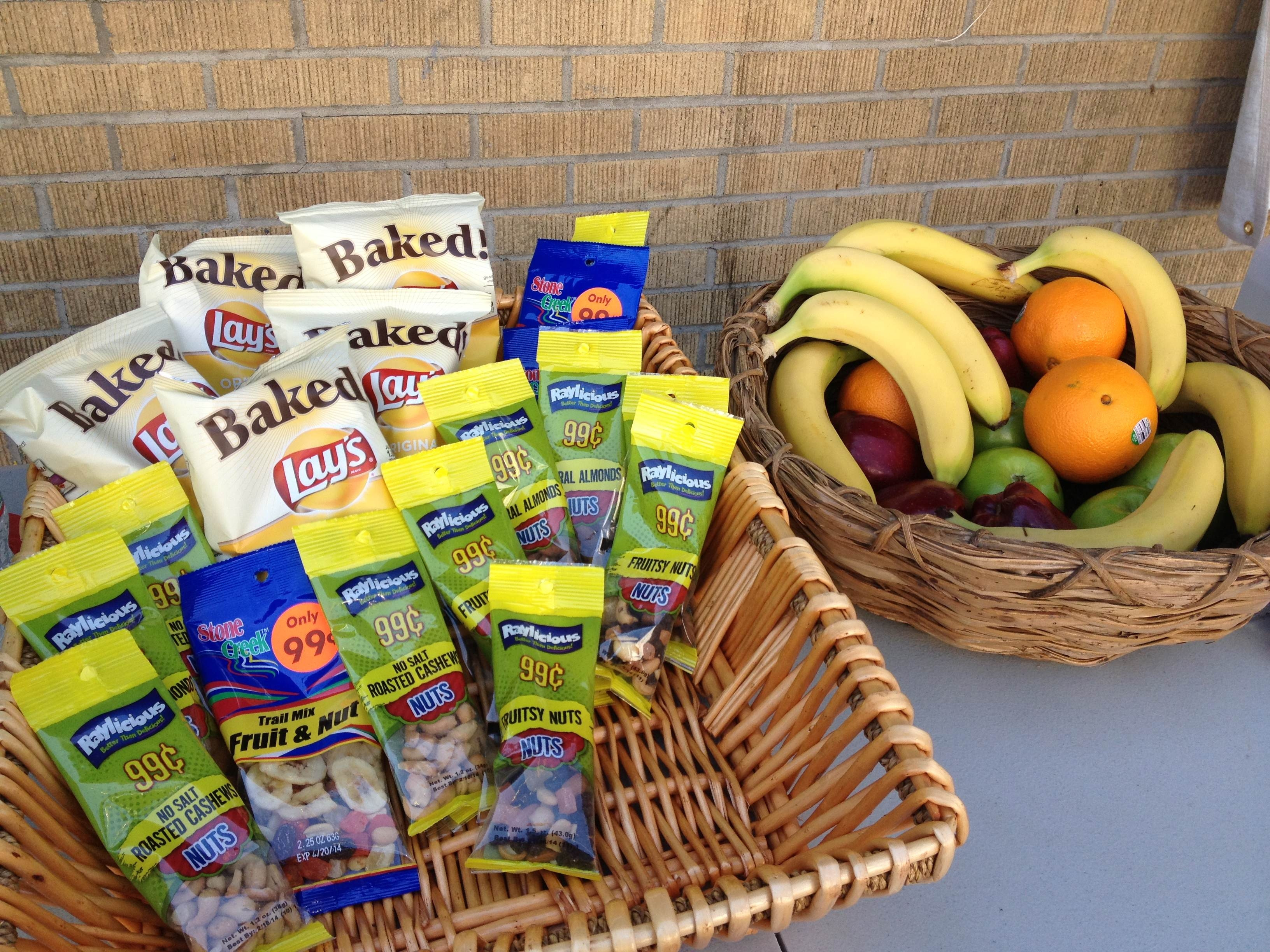Healthy Snacks At Grocery Store  Corner Stores