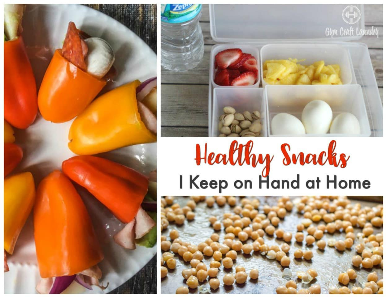 Healthy Snacks At Home  Healthy Snacks to Keep Around the House Gym Craft Laundry