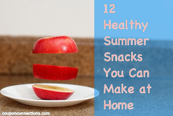 Healthy Snacks At Home  12 Healthy Summer Snacks You Can Make at Home Coupon