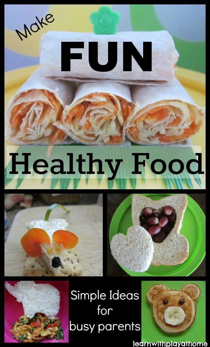 Healthy Snacks At Home  Learn with Play at Home Food for Kids