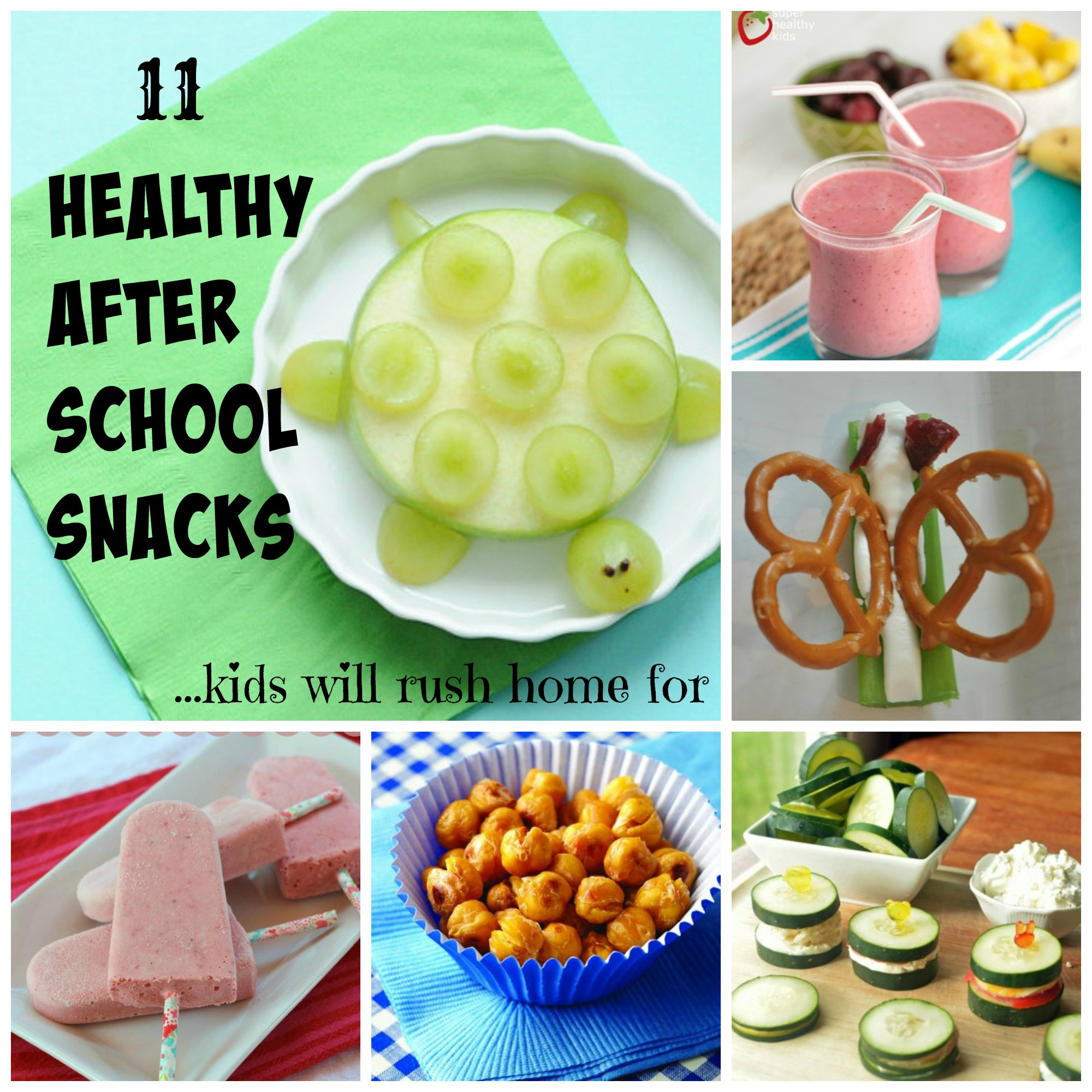 Healthy Snacks At Home  11 Healthy After School Snacks Kids Will Rush Home For