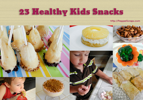 Healthy Snacks At Home  Healthy Snack Ideas For The Kiddos