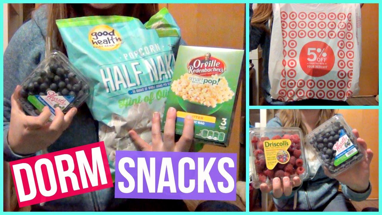 Healthy Snacks At Target  Dorm Room Healthy Snacks Grocery Tar Haul