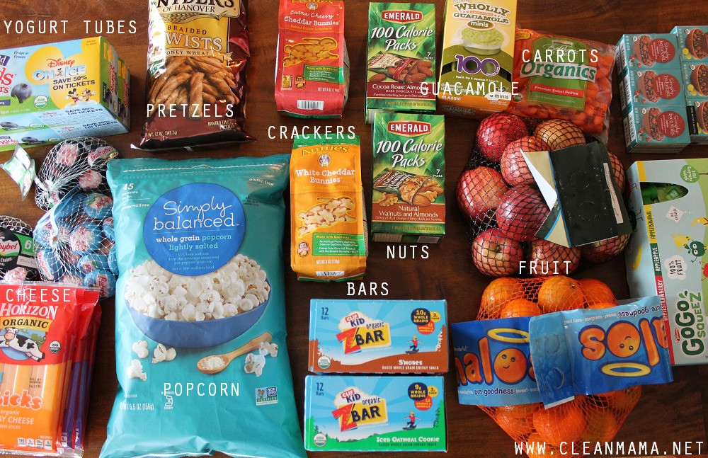 Healthy Snacks At Target  Organizing Your Home Archives Clean Mama