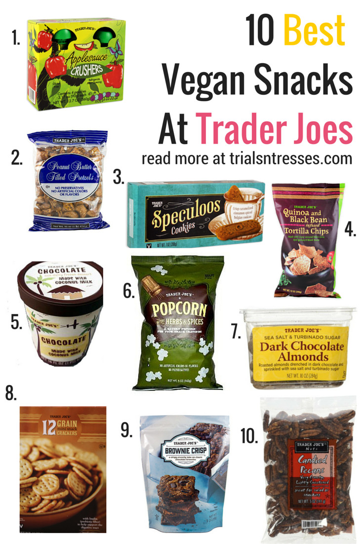 Healthy Snacks At Trader Joe'S  Best 25 Best vegan snacks ideas only on Pinterest