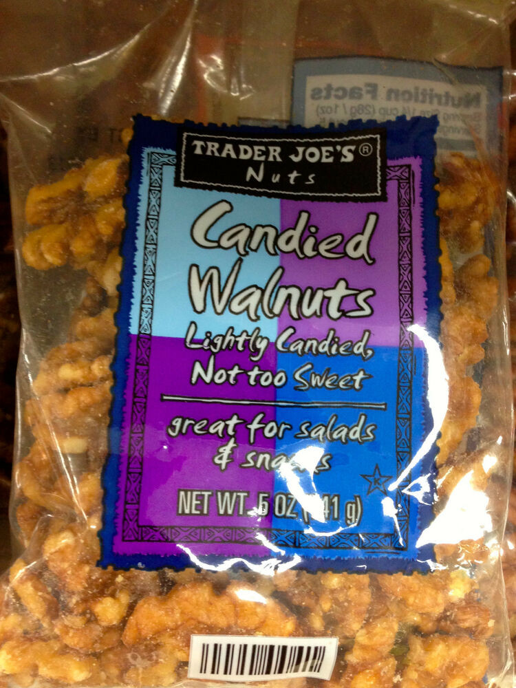 Healthy Snacks At Trader Joe'S  Trader Joe s Can d Pecans or Can d Walnuts Crunchy