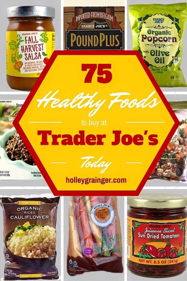 Healthy Snacks At Trader Joes  Healthy Foods to Buy at Trader Joe s