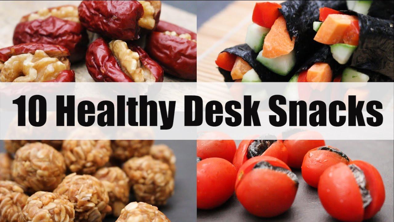 Healthy Snacks At Work  10 Healthy Desk Snacks for School or Work