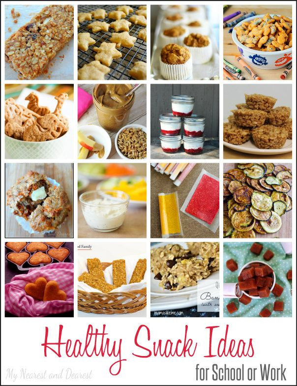 Healthy Snacks At Work  16 Healthy Snack Ideas for School or Work