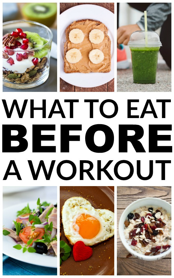 Healthy Snacks Before Workout  What to eat before a workout