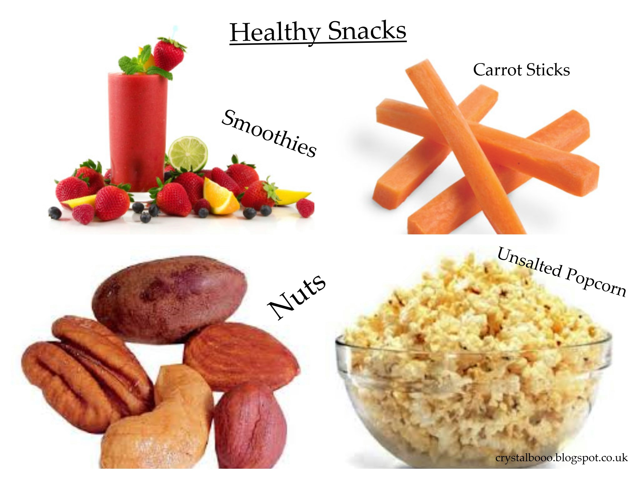 Healthy Snacks Between Meals  Lets be healthy