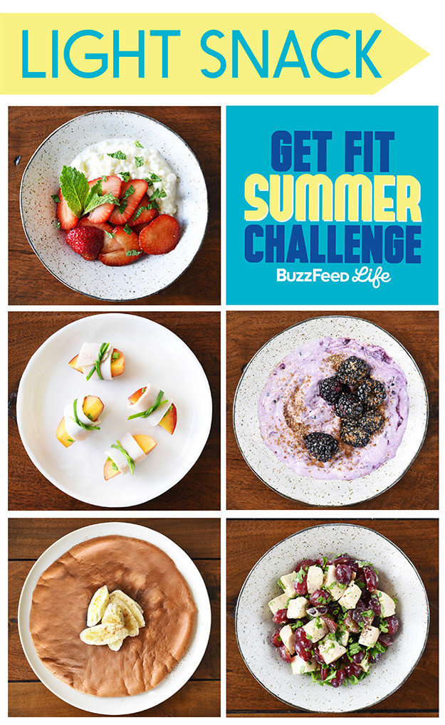Healthy Snacks Buzzfeed  5 Light And Healthy Snacks For The Get Fit Summer Challenge