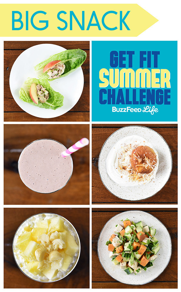 Healthy Snacks Buzzfeed  5 Healthy Snacks To Eat For The Get Fit Summer Challenge