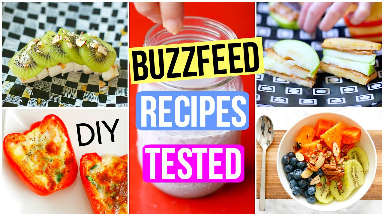 Healthy Snacks Buzzfeed  BuzzFeed Food Recipes Tested DIY Healthy Breakfast