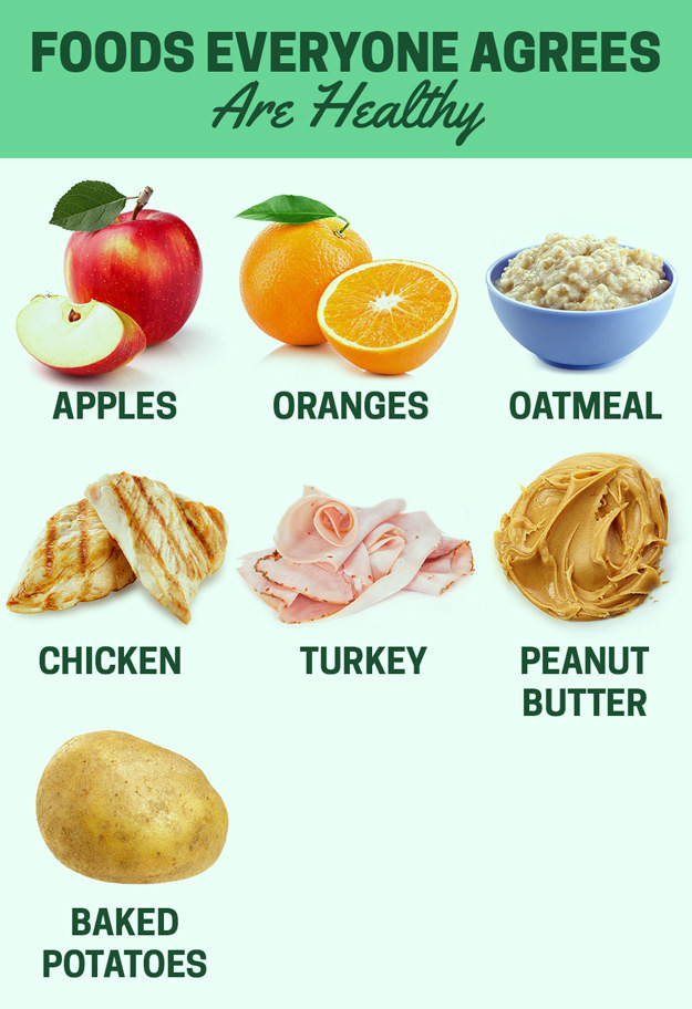 Healthy Snacks Buzzfeed  Here s What Nutritionists Actually Consider Healthy Food