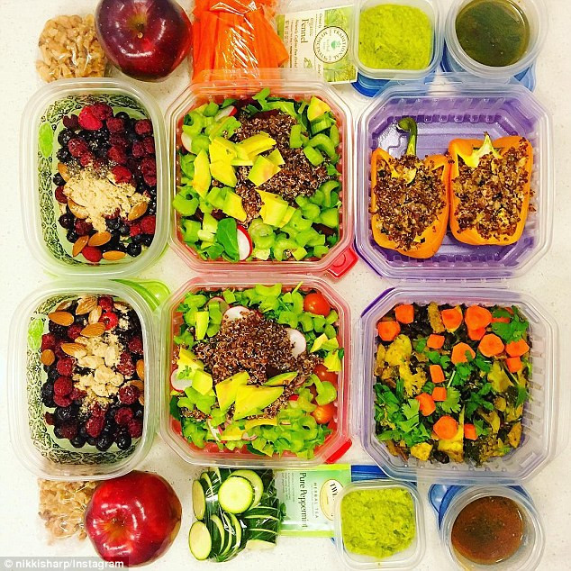 Healthy Snacks By Mail  Meal prep queens of Instagram cook a week s worth of