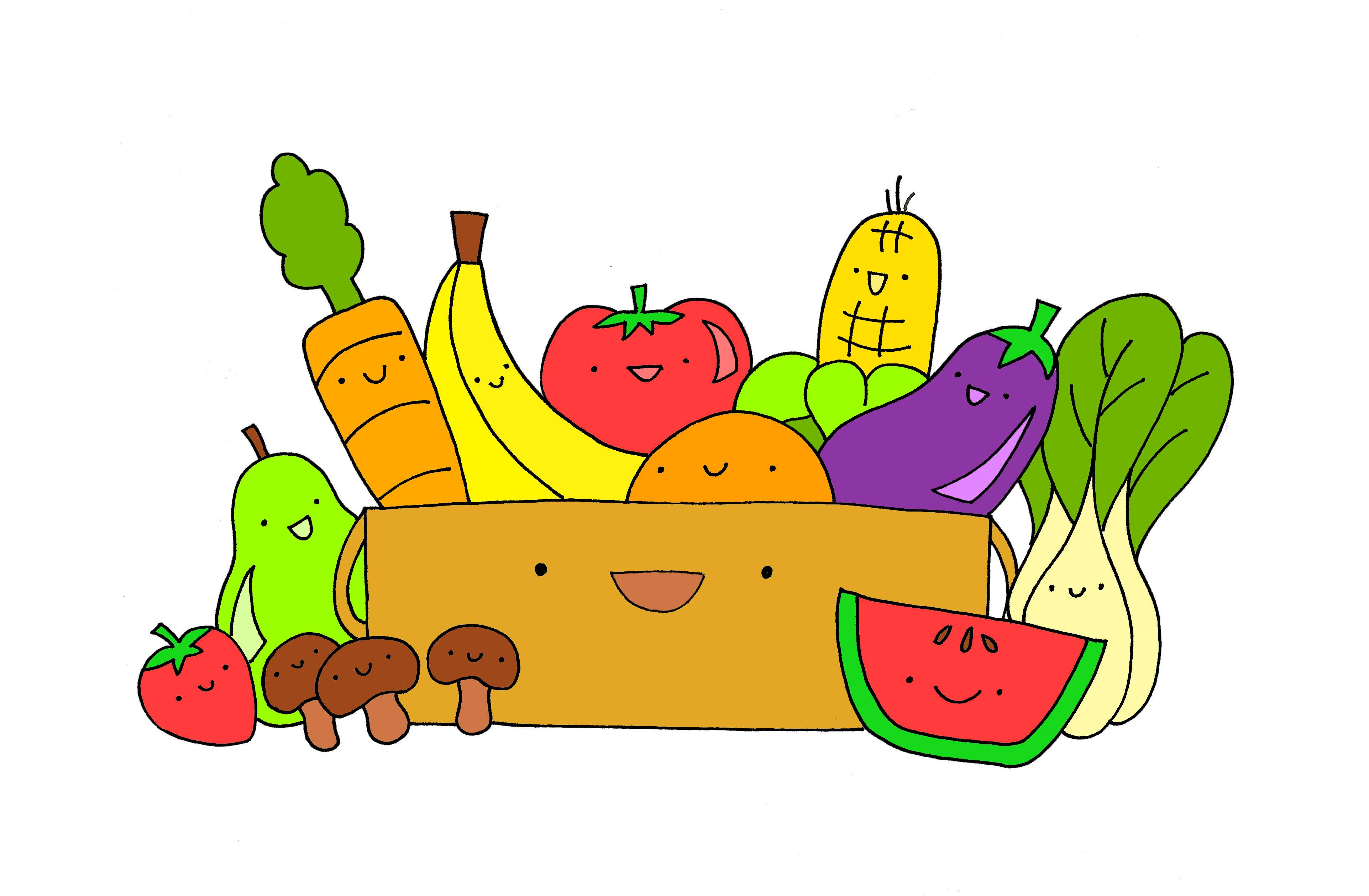 Healthy Snacks Clipart  Healthy Food Border