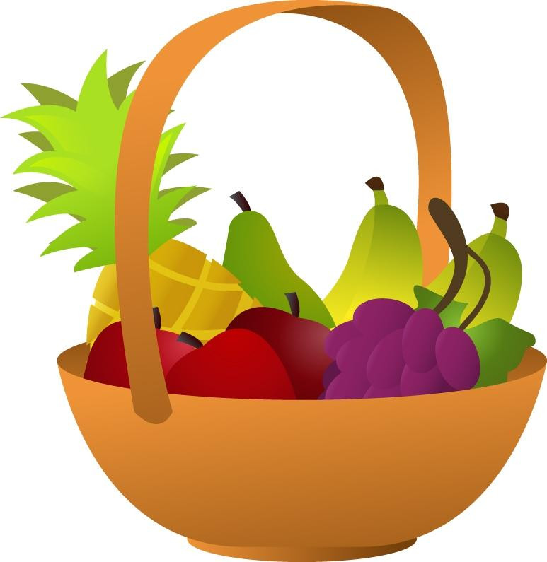 Healthy Snacks Clipart  View 1304 Holiday Hamper Clipart Free Nutrition and