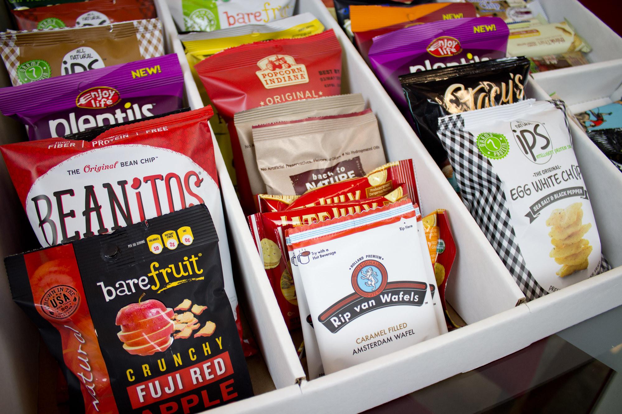 Healthy Snacks Delivered  fice Snack Delivery