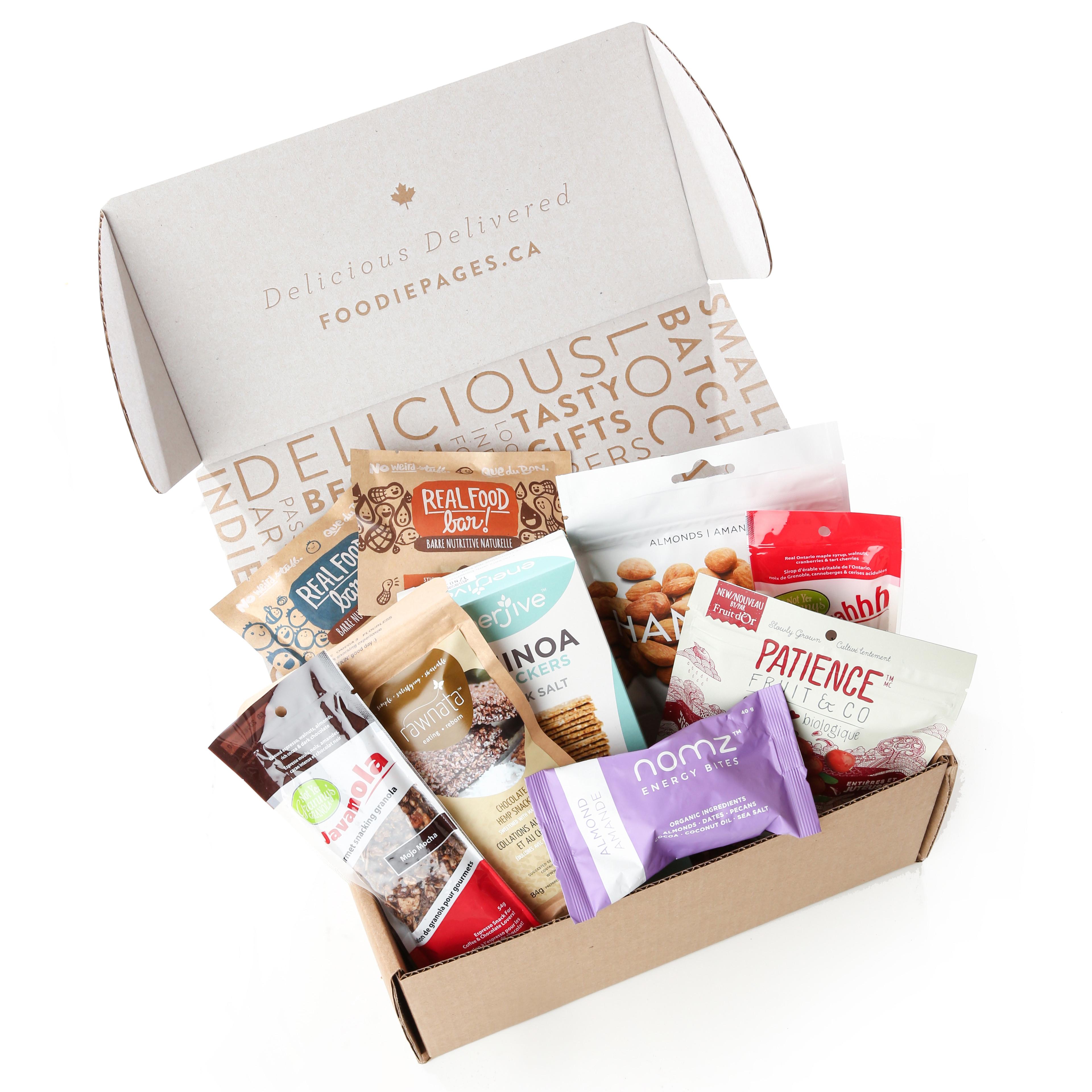Healthy Snacks Delivered  Snack Box Canada Healthy Snack Delivery