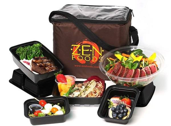 Healthy Snacks Delivered  Z E N Foods from 8 Healthy Meal Delivery Services Celebs