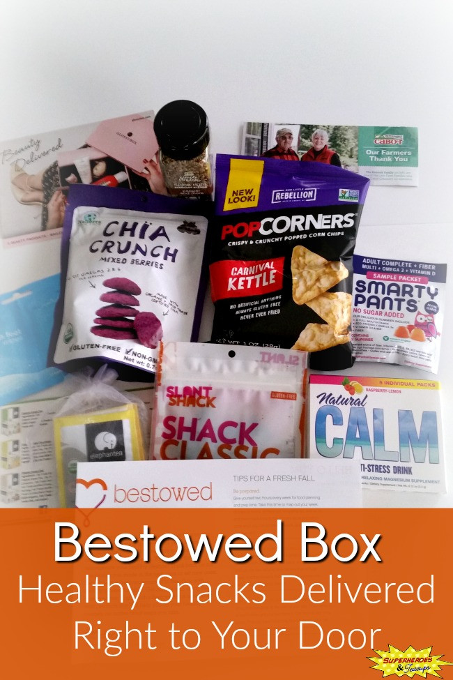Healthy Snacks Delivered  Bestowed Box Healthy Snacks Delivered Right to Your Door