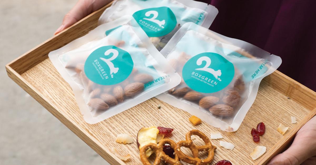 Healthy Snacks Delivered  boxgreen