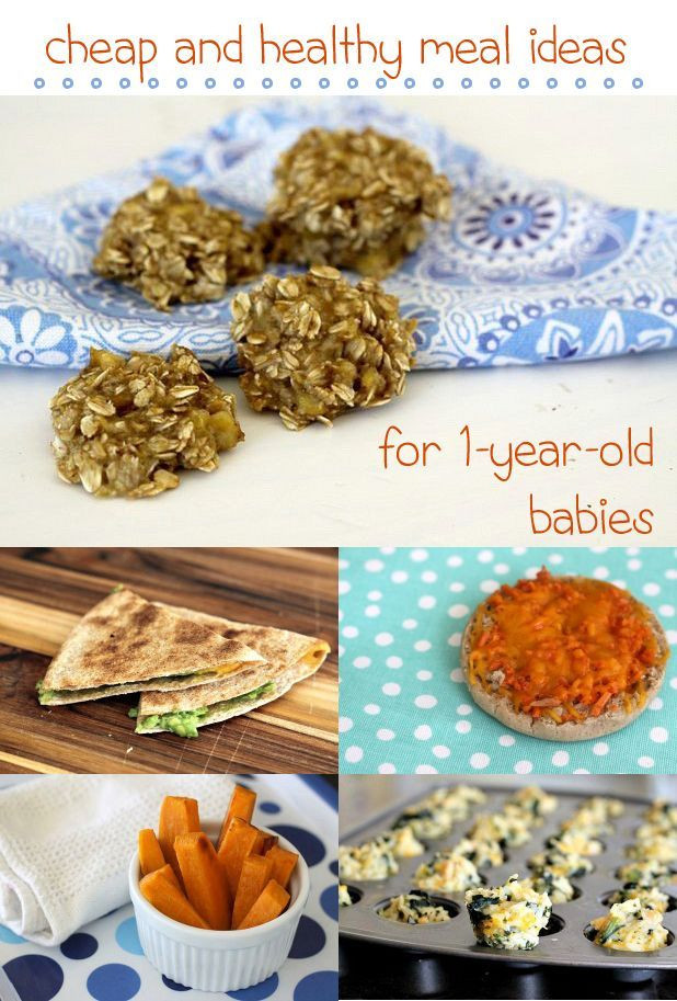 Healthy Snacks For 1 Year Old  Cheap & Healthy Meal Ideas for 1 Year Old Babies