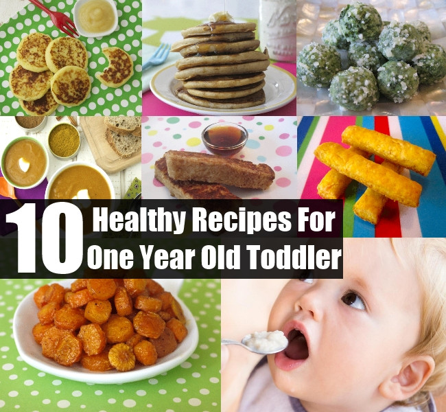Healthy Snacks For 1 Year Old  Top 10 Yummy And Healthy Recipes For Your e Year Old