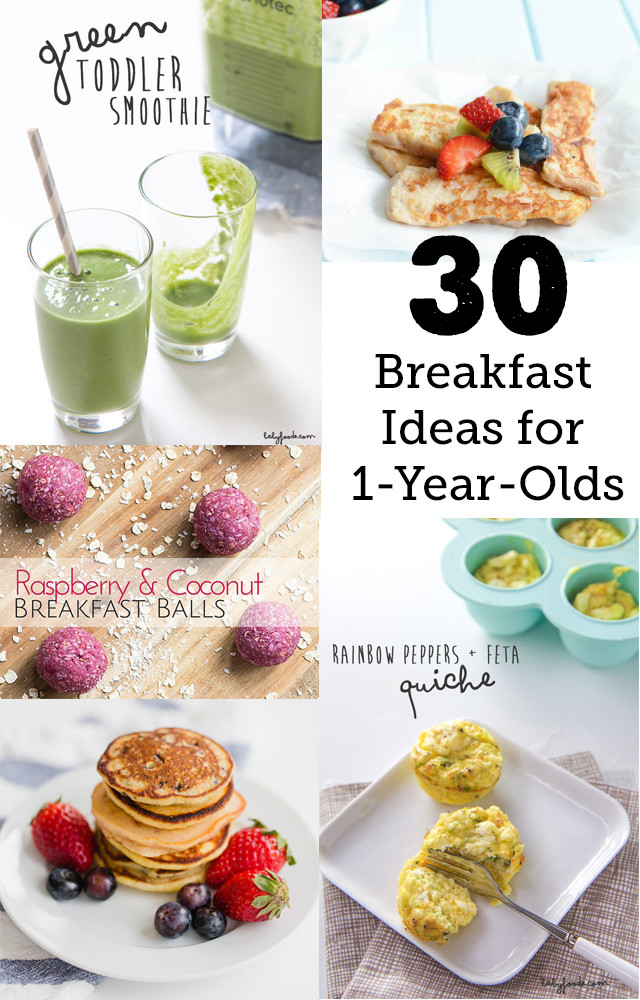 Healthy Snacks For 1 Year Old  30 Breakfast Ideas for a 1 year old Modern Parents Messy