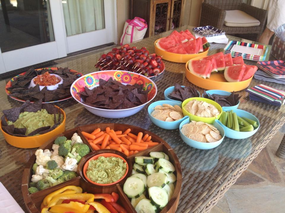 Healthy Snacks For A Party  Healthy Pool Party Food for Kids and Adults