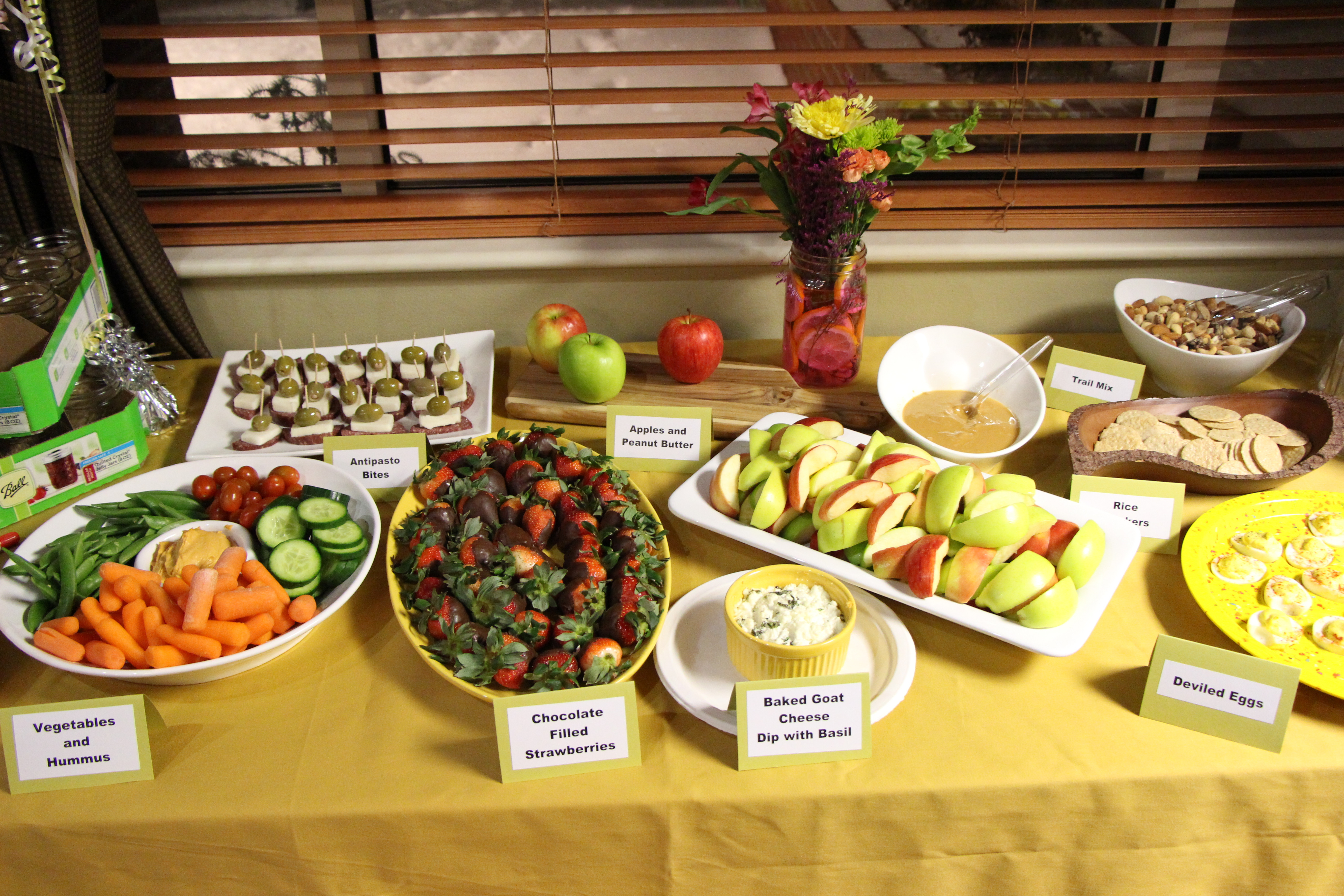 Healthy Snacks For A Party  Healthy Birthday Party Celebration Meghan Birt
