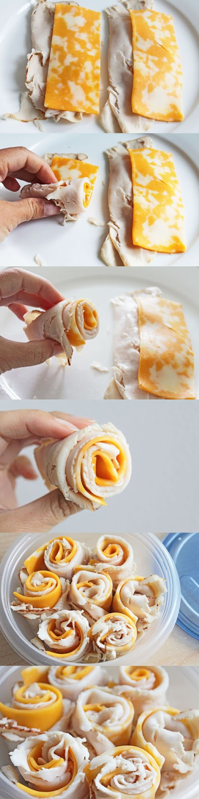 Healthy Snacks For Adults At Work  Easy to Make Snacks Turkey and Cheese Rolls Recipe