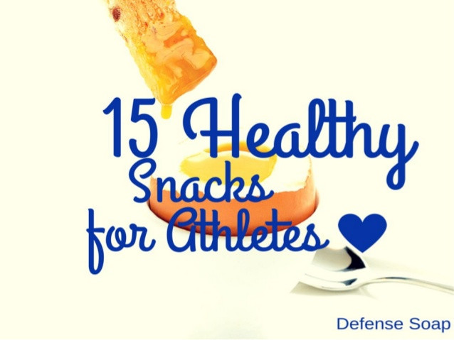 Healthy Snacks For Athletes  15 Healthy Snacks for Athletes