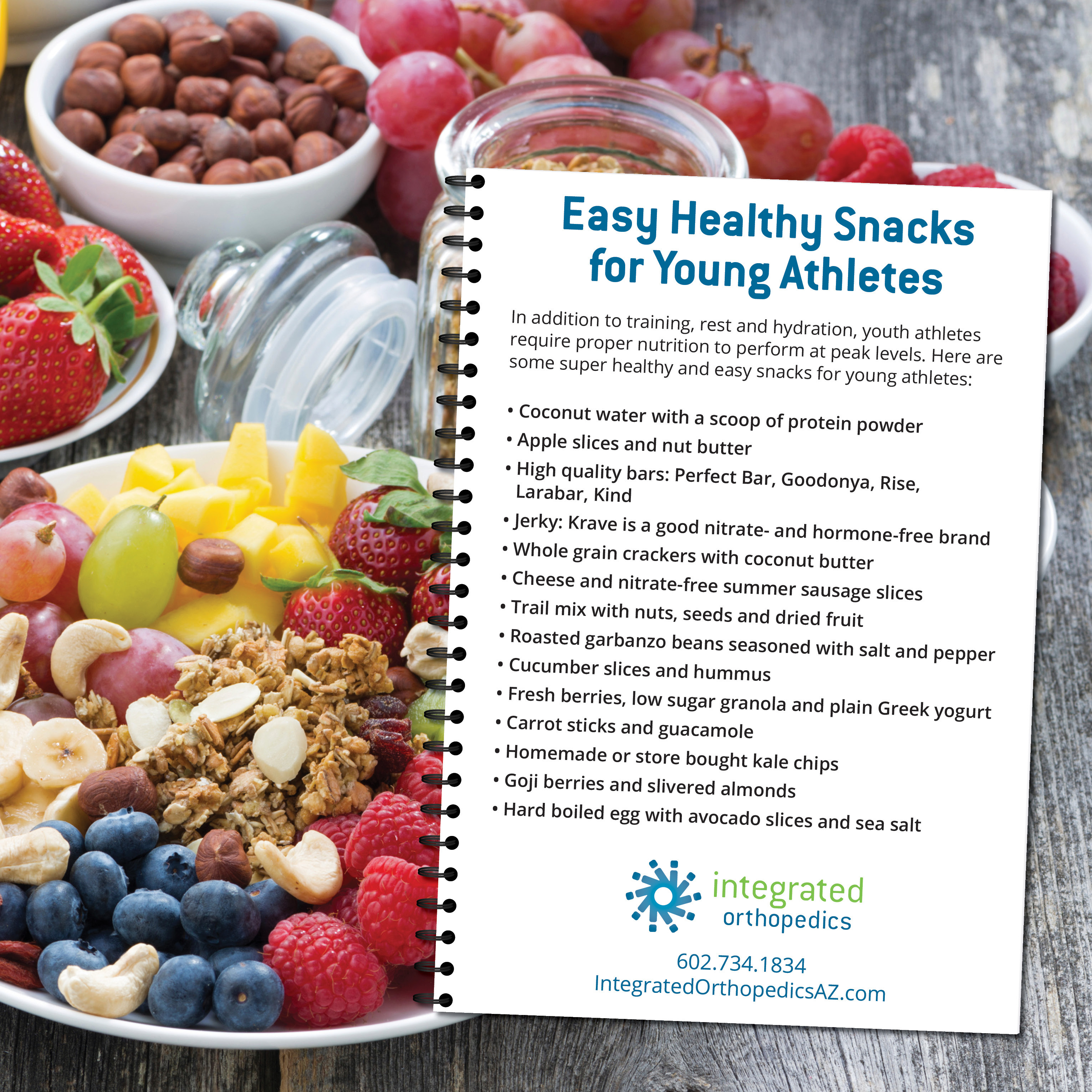 Healthy Snacks For Athletes  Easy Healthy Snacks for Young Athletes