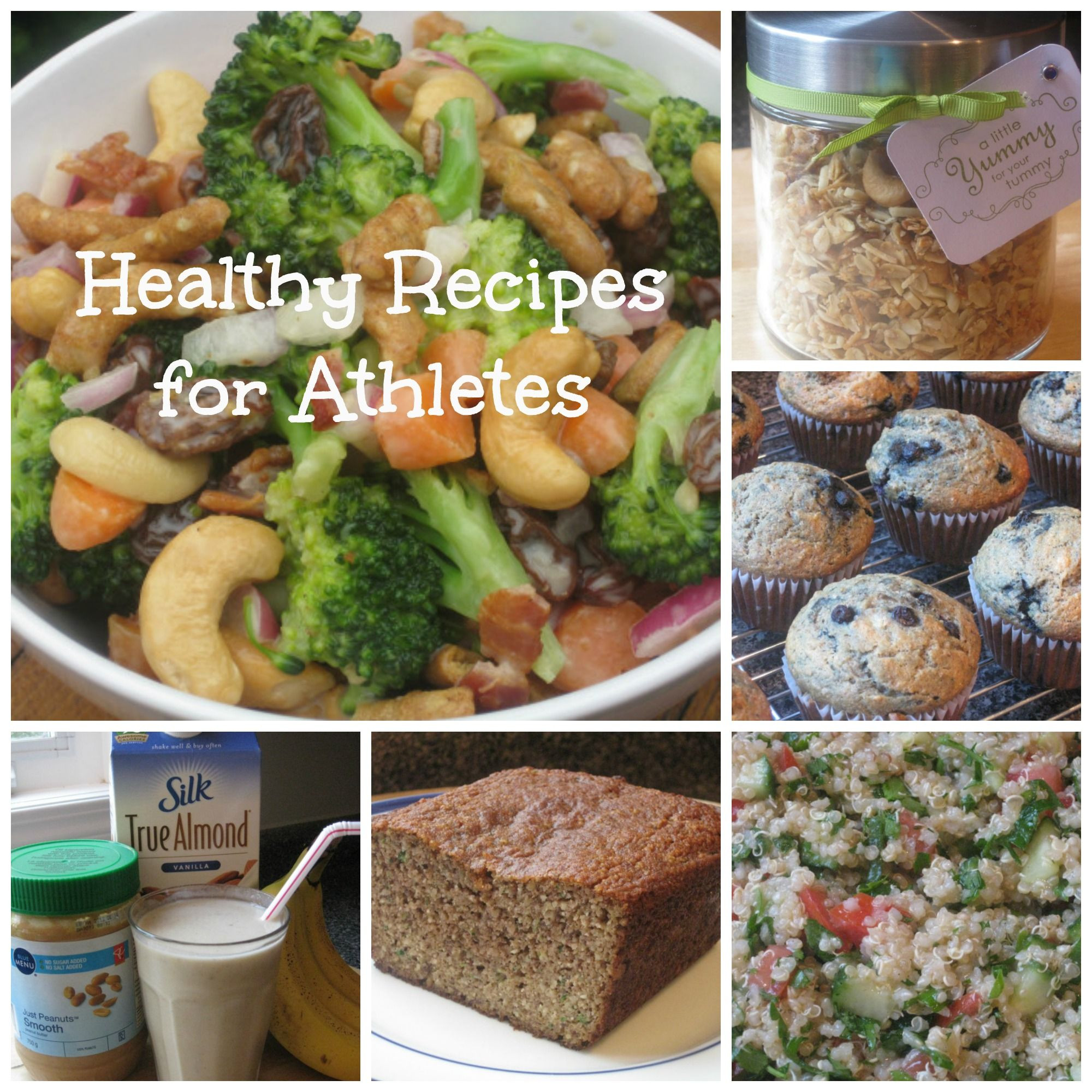 Healthy Snacks For Athletes  Healthy Snacks for Athletes and coaches too