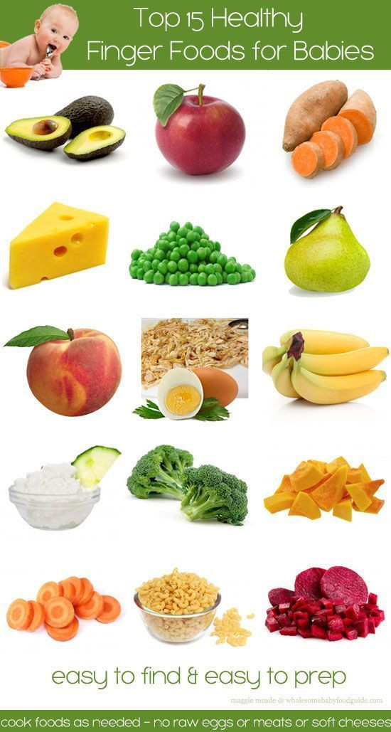 Healthy Snacks For Babies  Healty finger foods for baby around 7 8 months old