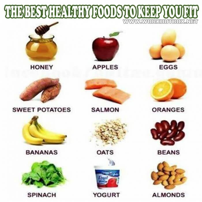 Healthy Snacks For Bodybuilders  The Best Healthy Foods To Keep You Fit Healthy Fitness