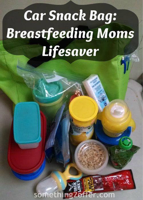 Healthy Snacks For Breastfeeding Moms  Car Snack Bag A Must for Breastfeeding Moms