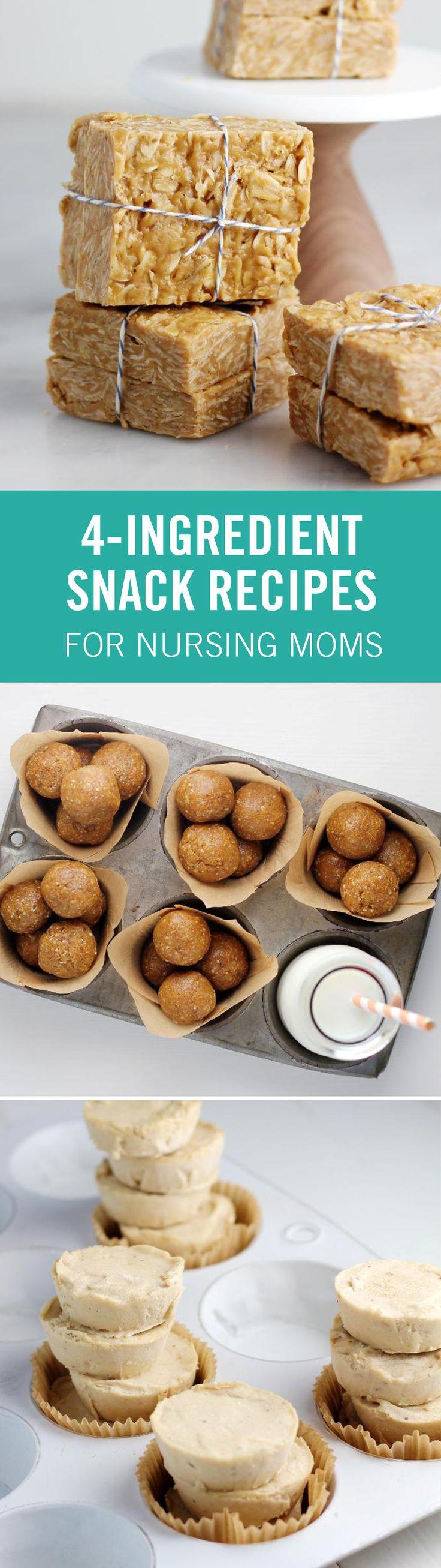 Healthy Snacks For Breastfeeding Moms  25 best ideas about Breastfeeding snacks on Pinterest