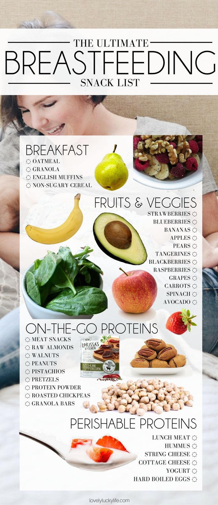 Healthy Snacks For Breastfeeding Moms  The Best Snacks for Breastfeeding
