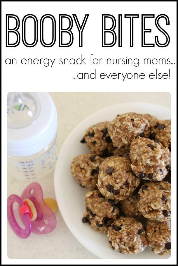 Healthy Snacks For Breastfeeding Moms  An energy snack for nursing moms d everyone else