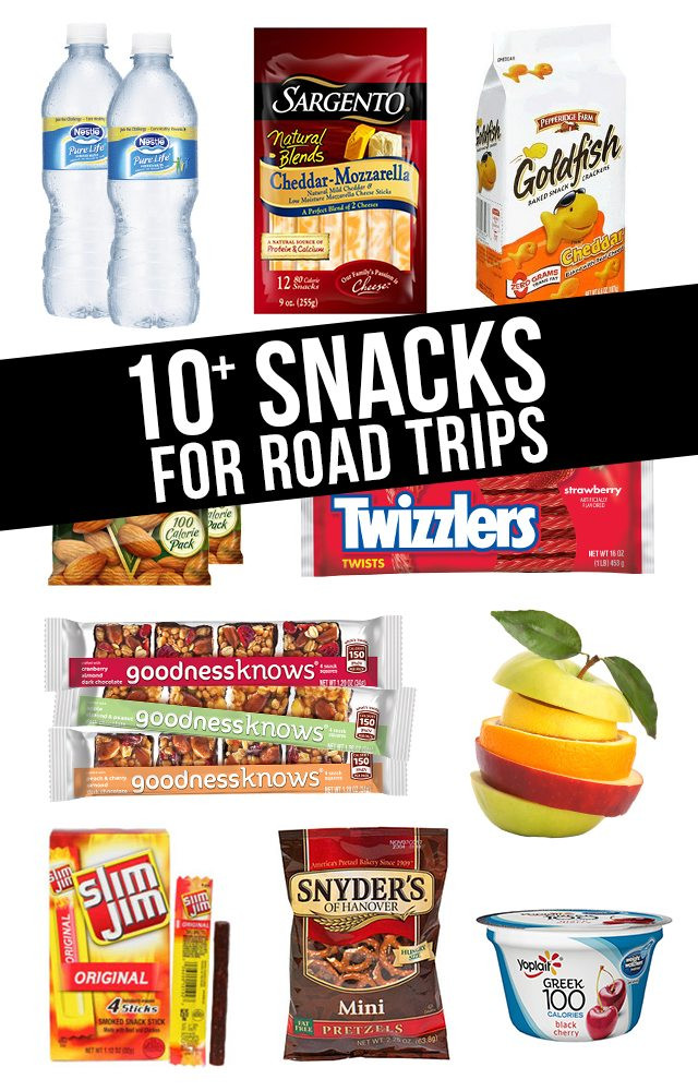Healthy Snacks For Car Trips  10 Snacks for Road Trips Live Laugh Rowe