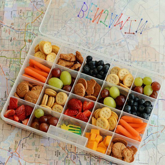 Healthy Snacks For Car Trips  Easy & fun road trip snack boxes make long trips in the