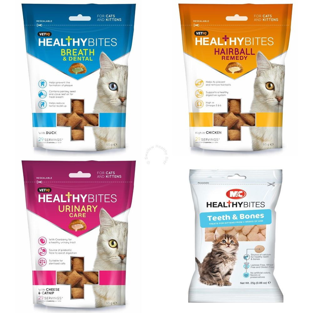 Healthy Snacks For Cats  Mark & Chappell Healthy Bites Natural Treats For Cats